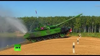 LIVE  Tank biathlon resumes at Army Games 2017 in Russia (Day 3)