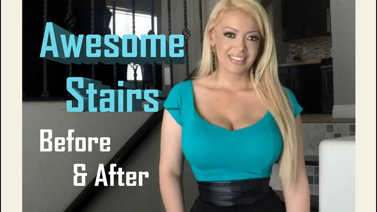 Exceptionnel Stairs Remodel U0026 Design Ideas   Before And After   YouTube