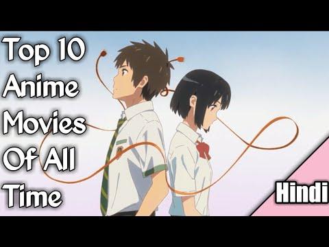 Top 10 Anime Movies [Hindi]