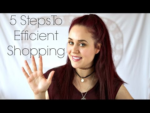 5 Steps To Efficient Shopping