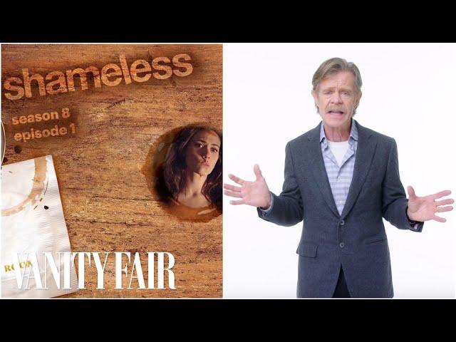 William H  Macy Recaps Shameless Seasons 8 & 9 in 15 Minutes