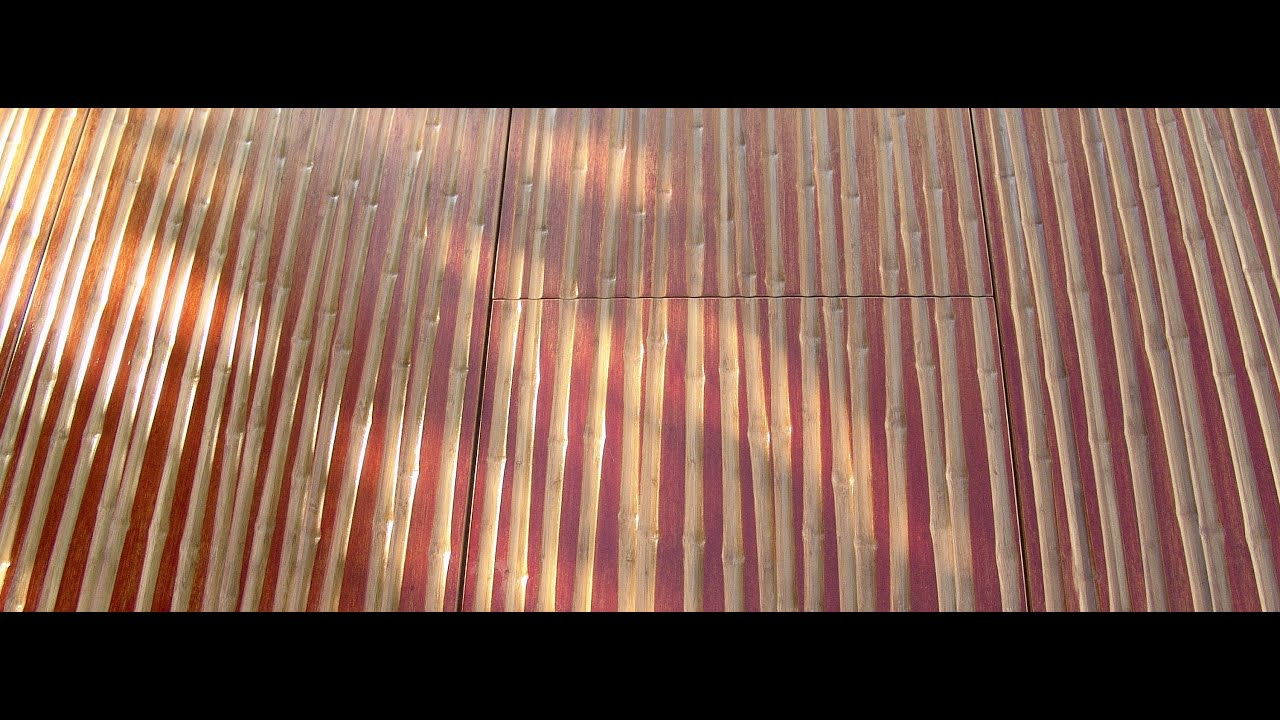 Architectural Bamboo Wall Paneling   Architectural Bamboo Panels   Interior Wall  Paneling   YouTube