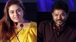 Namitha , Sakthi Speech | Bhaskar Oru Rascal Audio Lunch | Cine Flick