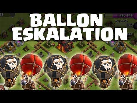 BALLON ESKALATION || CLASH OF CLANS || Let's Play Clash of Clans [Deutsch/German HD]