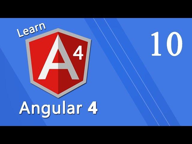 Angular 4 Tutorial - Model Driven Forms #10