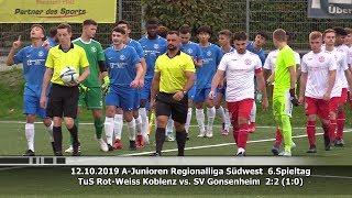 TuS Rot-Weiss Koblenz vs. SV Gonsenheim 2:2 (1:0)