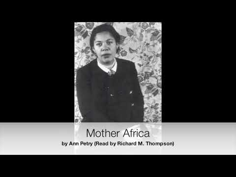 """""""Mother Africa"""" by Ann Petry 