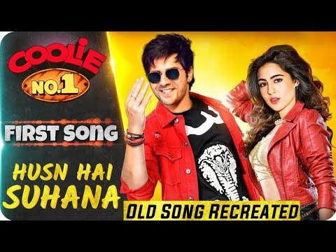 Coolie No. 1 2020 | First Song | Husn Hai Suhana | Varun Dhawan | Sara Ali Khan | Govinda | Karisma Mp3
