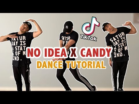 NO IDEA X CANDY (Tik Tok Dance Tutorial)