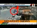 Shocking News   Truck  Bike accident lead to death of 2 motorbikers   Viral Video   Sandesh News