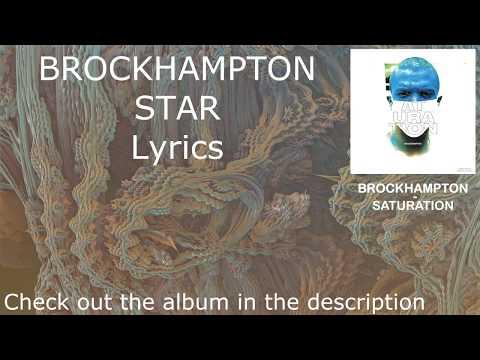 BROCKHAMPTON - STAR - Lyrics [HD&HQ]