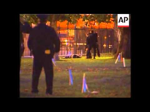 One man sets himself on fire, another jumps fence, at White House
