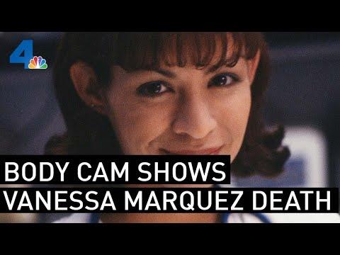 Bodycam footage of 'ER' actress Vanessa Marquez's shooting death ...