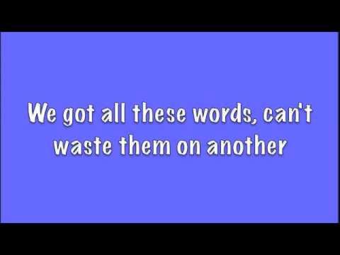 One Republic: All This Time Lyrics