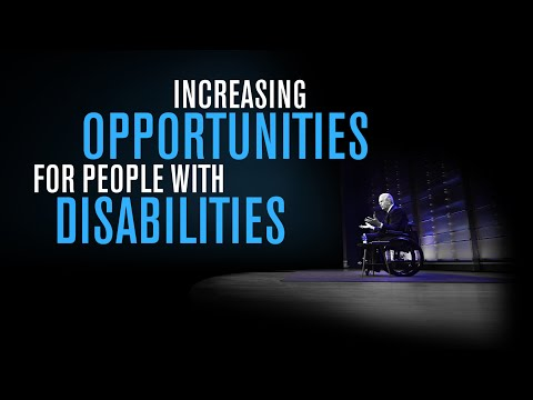 Increasing opportunities for people with disabilities   VISION TALKS