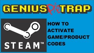 How to activate Steam Keys game product code.