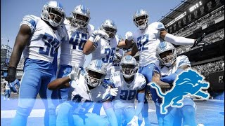 """Detroit Lions Quarter-Season Highlights 