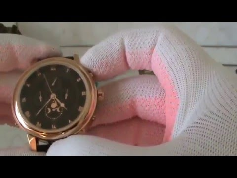 Patek Philippe Skeleton Black Gold Automatic 2014 - YouTube