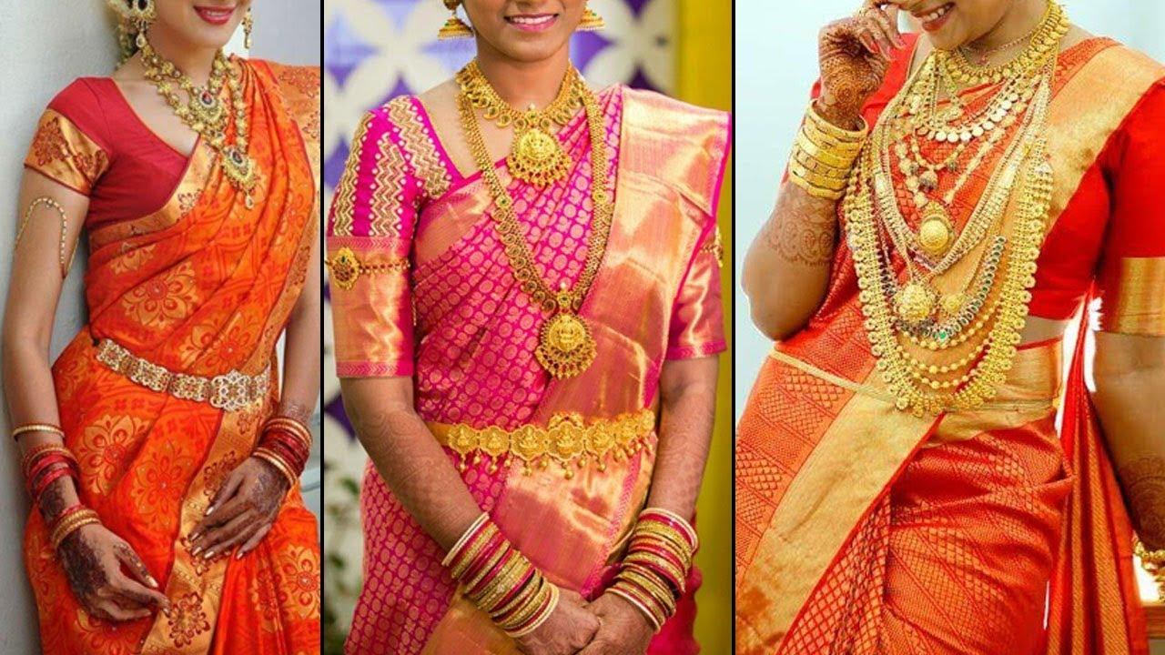25 Beautiful South Indian Bridal Saree Designs 2019 Exclusive