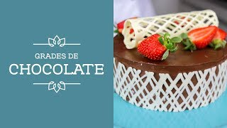 Técnicas de Chocolate | Grades de Chocolate