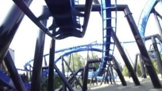 Batman (HD POV) Six Flags Magic Mountain