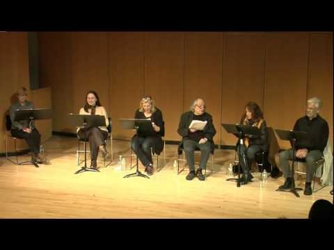 An Evening with Leslie Ayvazian, March 16th 2015