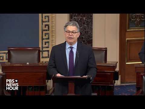 WATCH: Sen. Al Franken announces resignation on Senate floor