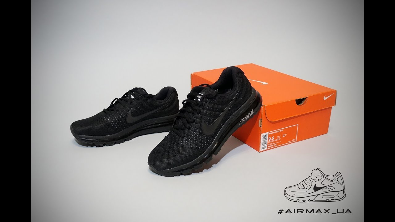 Nike Air Max 2017 GS blackblack ab 133,99 ? im