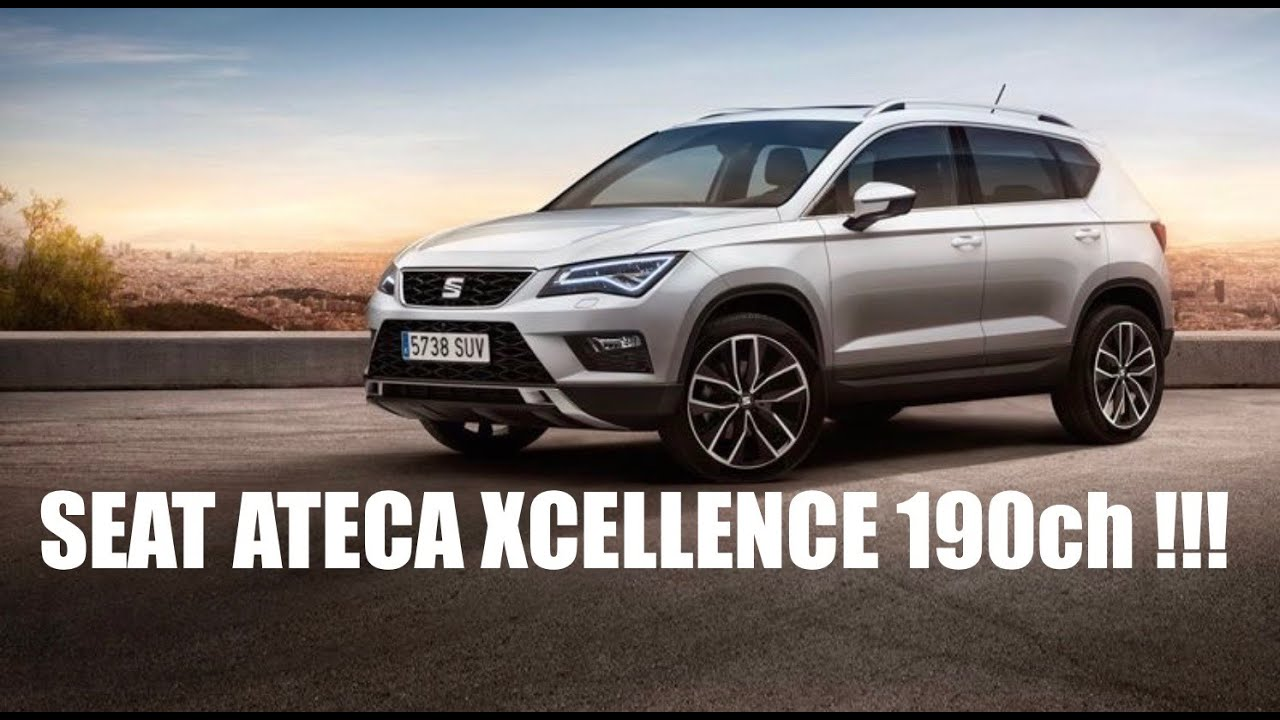 revue seat ateca xcellence 190ch youtube. Black Bedroom Furniture Sets. Home Design Ideas