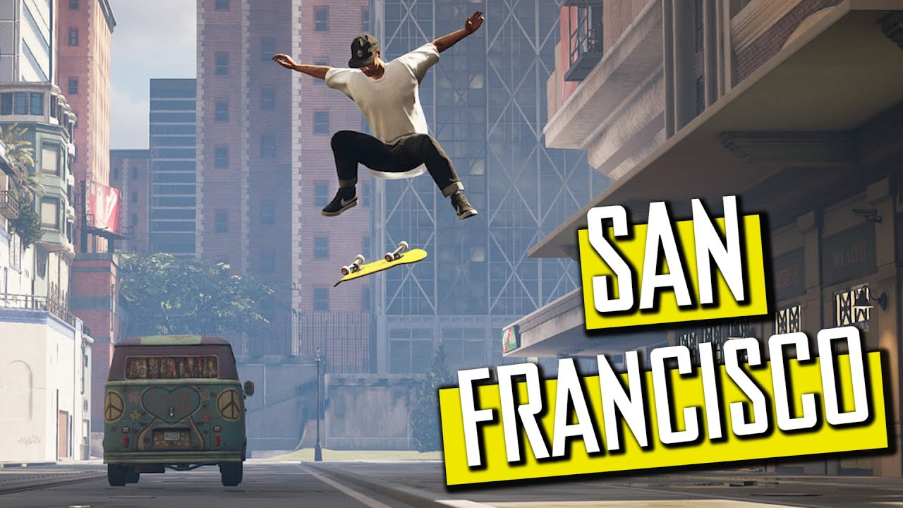 SAN FRANCISCO - Tony Hawk Pro Skater 1+2