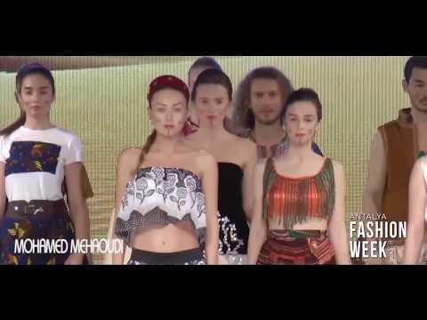 Mohamed Mehaoudi ''Africa'' Special Designer  / Algeria - Antalya Fashion Week 2018