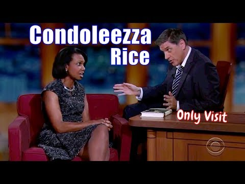 Condoleezza Rice ed by Craig Ferguson About Her Autobiography
