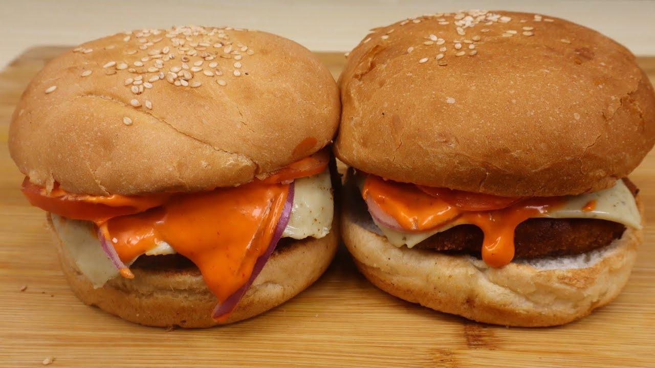 Veg Aloo Tikki Burger Recipe | वेज आलू टिक्की बर्गर रेसिपी | Secret Ingredients | Best Burger Recipe