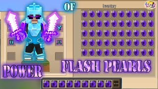 POWER OF 999+ FLASH PEARLS In Bed Wars | Blockman Go Gameplay (Android , iOS)