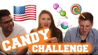 American Candy Challenge mit LEO und EMRAH!