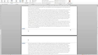 Word 2010: Seitenzahlen mit römischen und arabischen Ziffern - Wissenschaftliches Arbeiten Tutorial