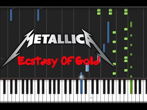 Metallica  Ecstasy Of Gold Synthesia Tutorial