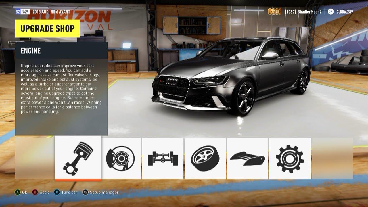 Video - Forza Horizon 2 - 2015 Audi RS6 Avant Top Speed