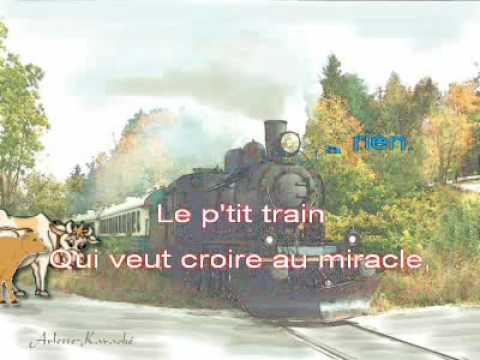 Arlette Karaoké-- Le P'etit train