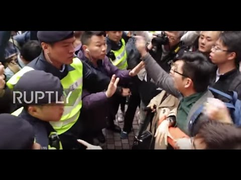 Hong Kong: Protesters clash with police following election of pro-Beijing candidate Carrie Lam