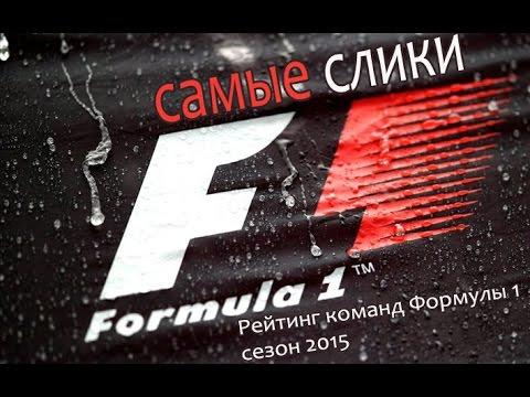 Формула 1 Топ 10 Команд - 2015