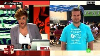 """Raúl Camargo, Podemos: """"Syriza encarna la idea de que otra política es posible"""""""