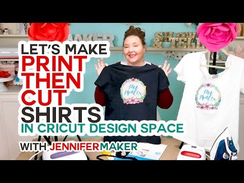 a030bb6e Make Print Then Cut T-Shirts with Your Cricut the RIGHT Way! - YouTube