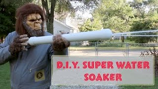 D.I.Y. Super Water Soaker
