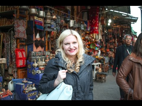 Shopping and Eating in the Medina in Marrakesh