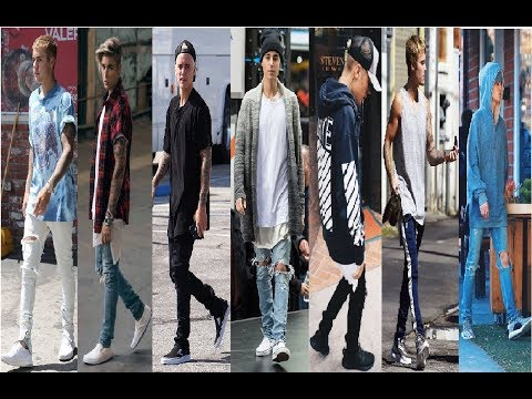 Justin Bieber Fashion Style & Street Style 2018
