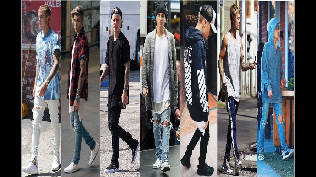 Justin Bieber Fashion Style Street Style 2018 Youtube
