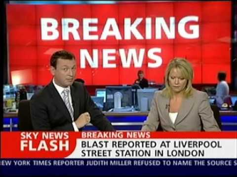 7th July 2005 London Bombings Sky News Coverage
