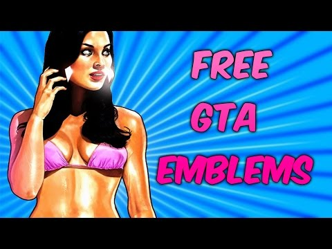 FREE GTAV CREW EMBLEMS   Rockstar Social Club Grand Theft Auto V Logo