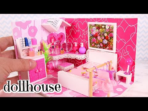 DIY Miniature Girly Dollhouse Room [Not a Kit]